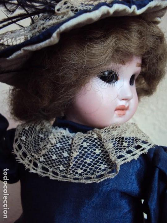 Muñecas Porcelana: (ANT-180936) autómata musical / cabeza de porcelana / años 60 - 70 - FUNCIONANDO - Foto 7 - 133908982