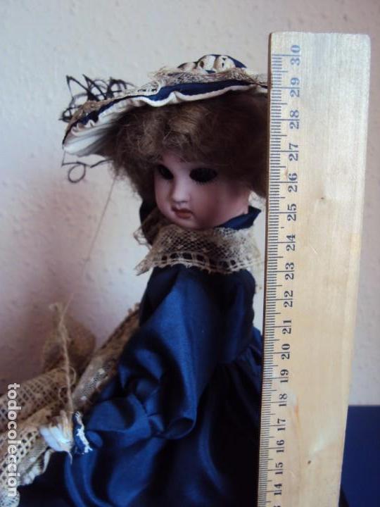 Muñecas Porcelana: (ANT-180936) autómata musical / cabeza de porcelana / años 60 - 70 - FUNCIONANDO - Foto 12 - 133908982