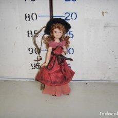 Muñecas Porcelana: MUNECA DE PORCELANA. Lote 135123570