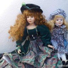 Muñecas Porcelana: MUÑECAS DE PORCELANA. Lote 135492846