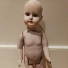 Muñecas Porcelana: MUÑECO DE PORCELANA O CERÁMICA OJOS DE CRISTAL.. Lote 135607638
