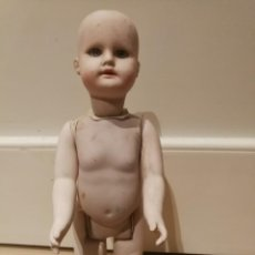 Muñecas Porcelana: MUÑECO DE PORCELANA O CERÁMICA OJOS DE CRISTAL.. Lote 135608434