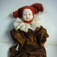 Muñecas Porcelana: MUÑECA EN PORCELANA MANOS,CARA Y PIERNAS (#). Lote 136310178