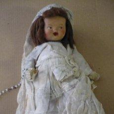 Muñecas Porcelana: MUÑECA COMUNION ANTIGUA. Lote 136469538