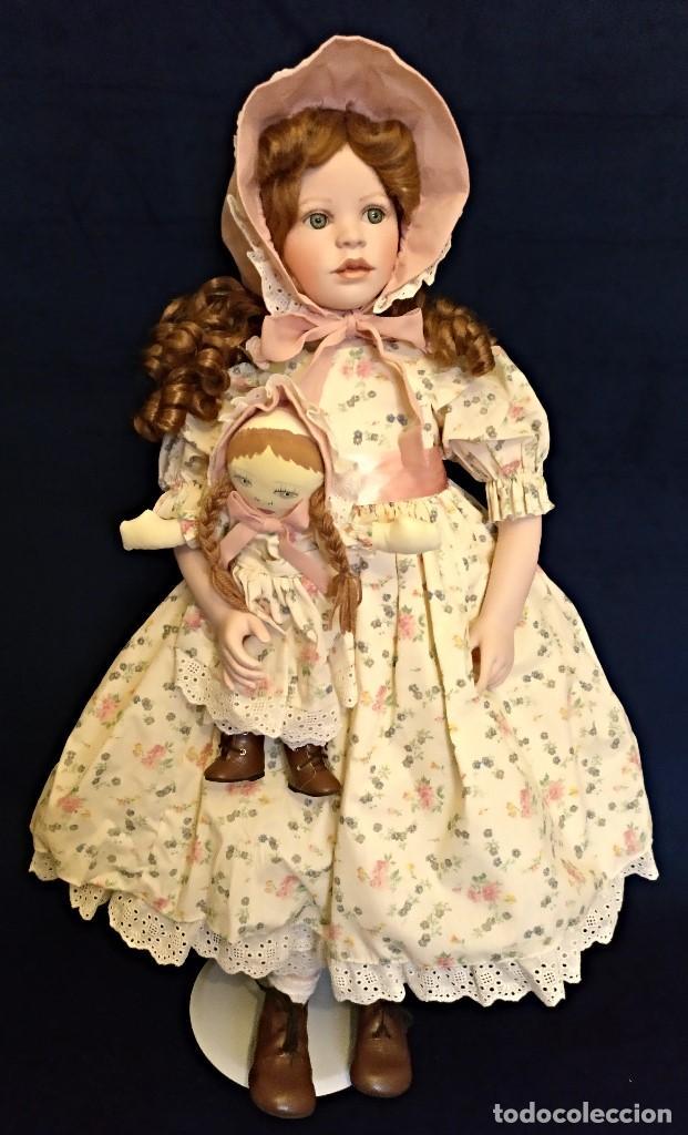 Muñecas Porcelana: Muñeca porcelana de coleccion,edicion limitada en 80 cm. - Foto 2 - 136797518