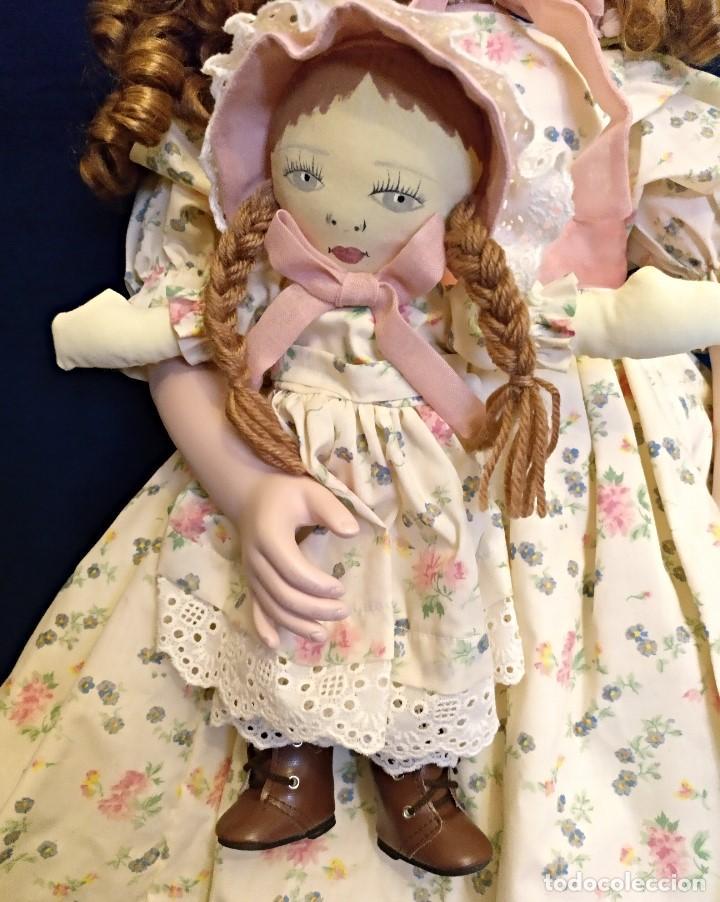 Muñecas Porcelana: Muñeca porcelana de coleccion,edicion limitada en 80 cm. - Foto 6 - 136797518