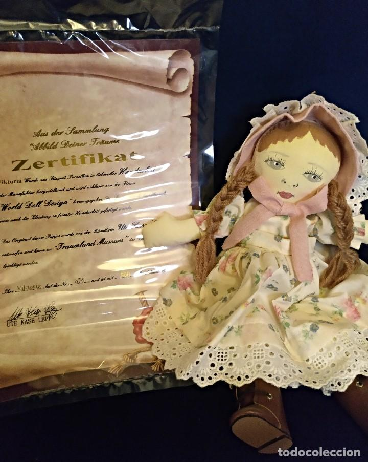 Muñecas Porcelana: Muñeca porcelana de coleccion,edicion limitada en 80 cm. - Foto 7 - 136797518