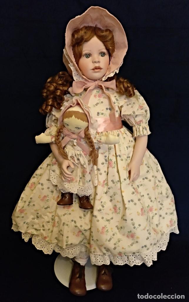Muñecas Porcelana: Muñeca porcelana de coleccion,edicion limitada en 80 cm. - Foto 8 - 136797518