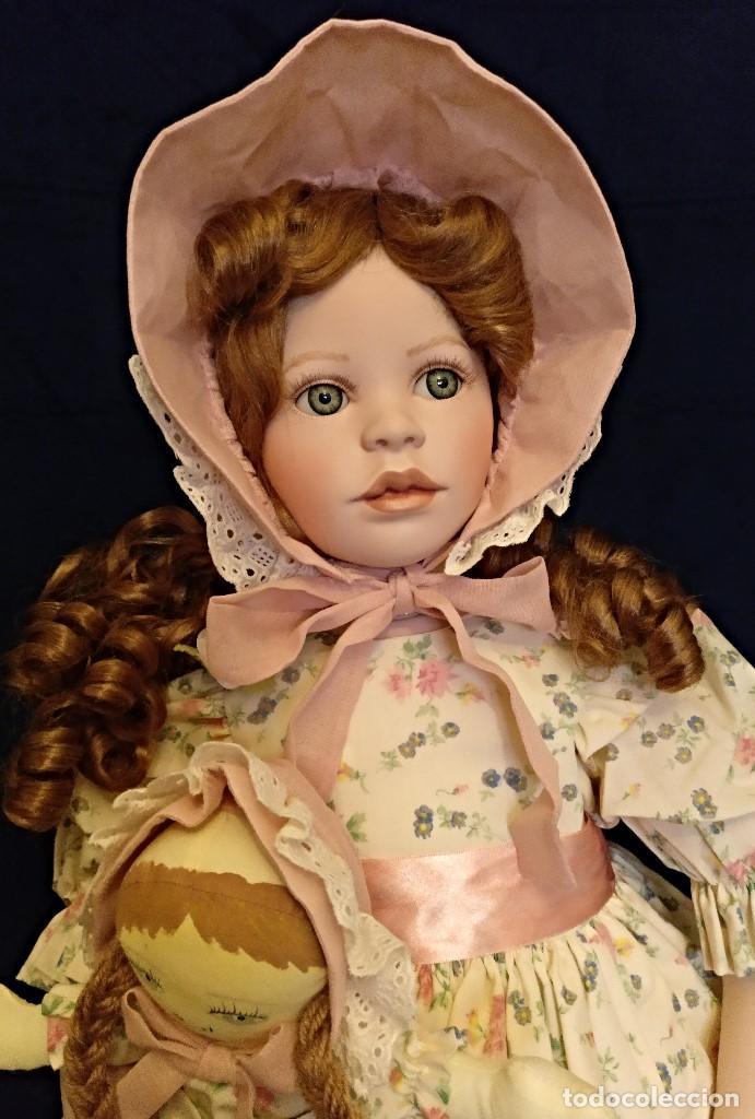 Muñecas Porcelana: Muñeca porcelana de coleccion,edicion limitada en 80 cm. - Foto 9 - 136797518