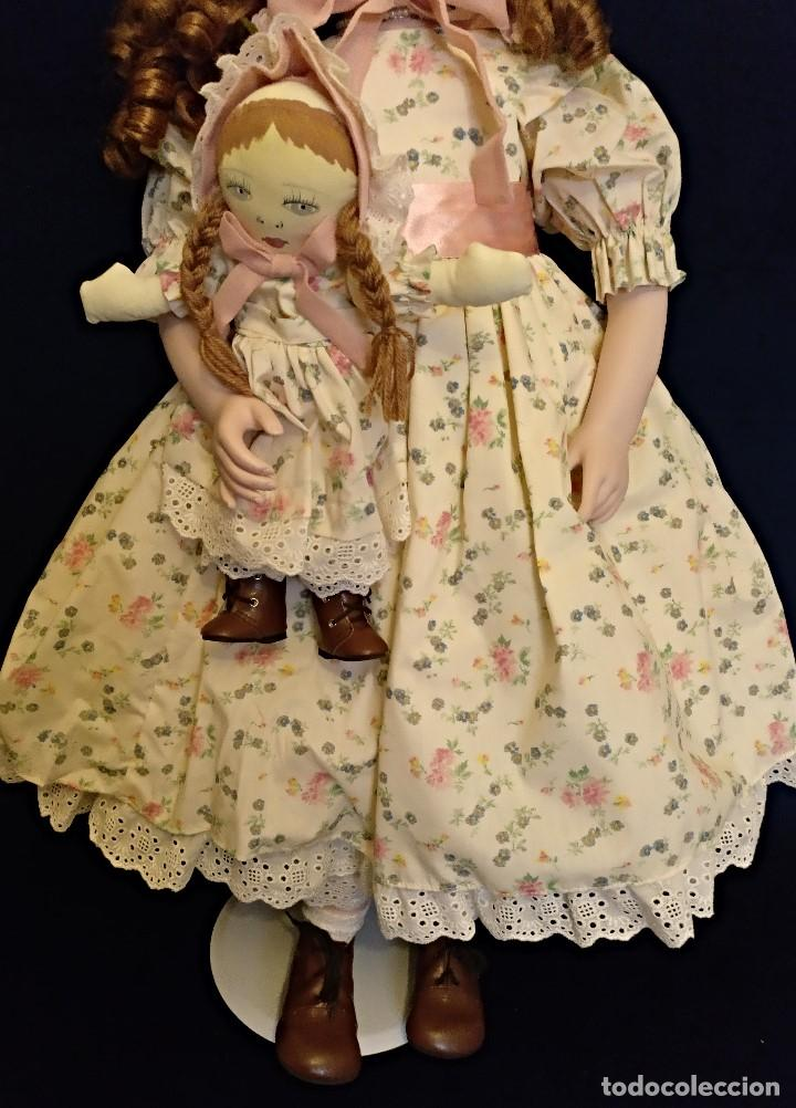 Muñecas Porcelana: Muñeca porcelana de coleccion,edicion limitada en 80 cm. - Foto 10 - 136797518