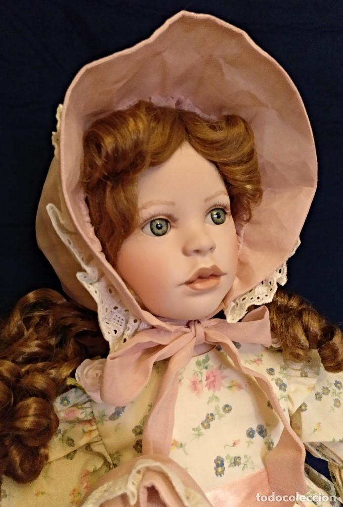 Muñecas Porcelana: Muñeca porcelana de coleccion,edicion limitada en 80 cm. - Foto 11 - 136797518