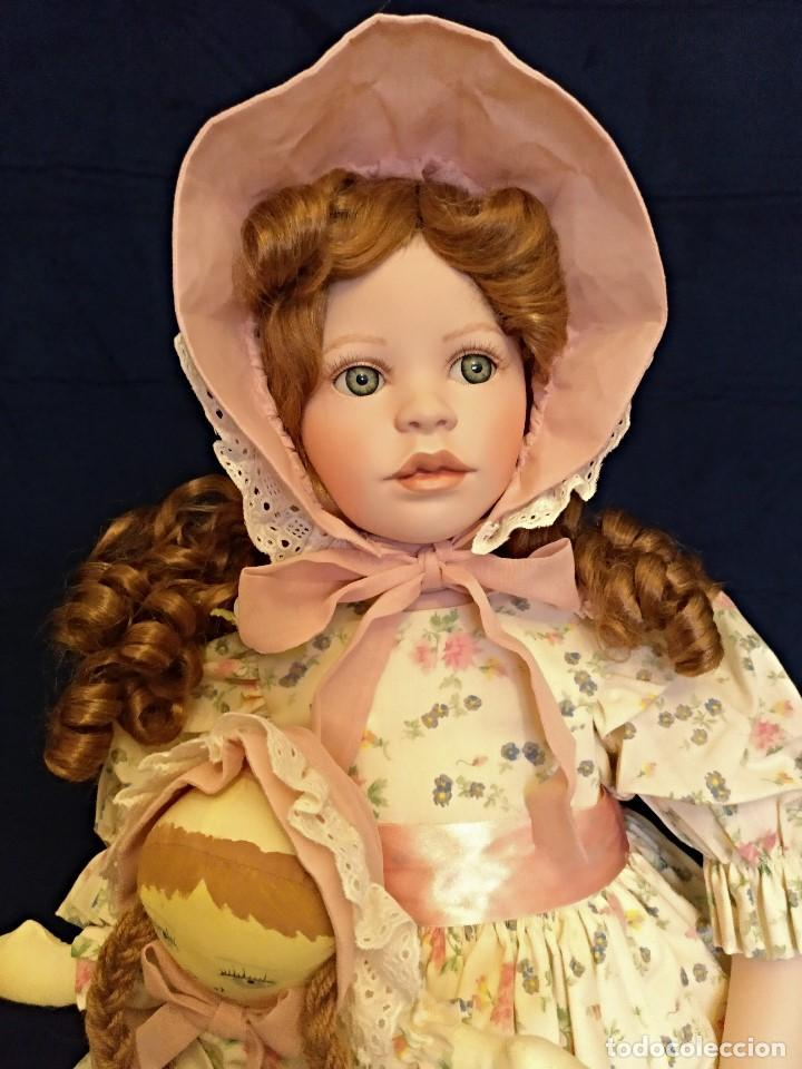 Muñecas Porcelana: Muñeca porcelana de coleccion,edicion limitada en 80 cm. - Foto 13 - 136797518