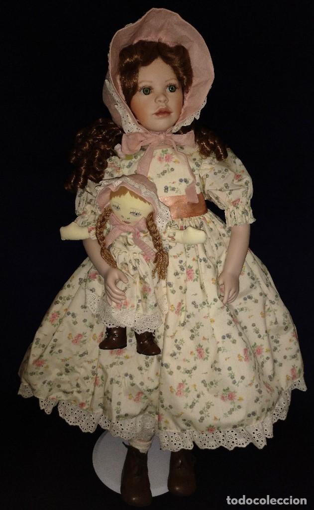 Muñecas Porcelana: Muñeca porcelana de coleccion,edicion limitada en 80 cm. - Foto 16 - 136797518
