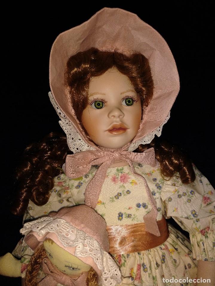Muñecas Porcelana: Muñeca porcelana de coleccion,edicion limitada en 80 cm. - Foto 17 - 136797518