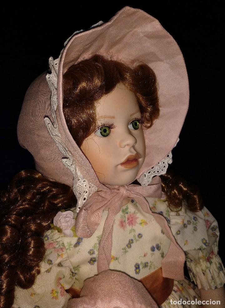 Muñecas Porcelana: Muñeca porcelana de coleccion,edicion limitada en 80 cm. - Foto 19 - 136797518