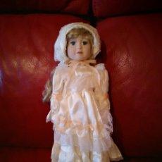Muñecas Porcelana: MUÑECA DE PORCELANA. Lote 138083862