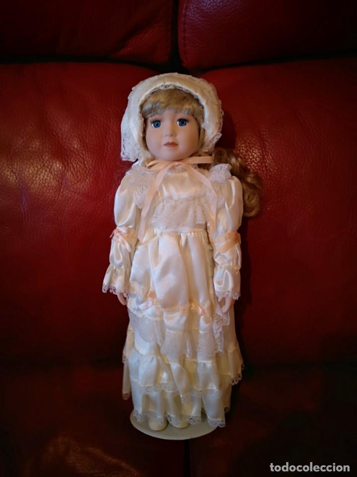 Muñecas Porcelana: Muñeca de porcelana - Foto 4 - 138083862
