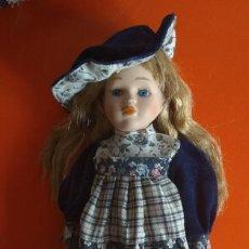 Muñecas Porcelana: ANTIGUA MUÑECA PORCELANA 32 CM. Lote 138541230