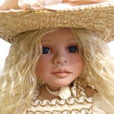 Muñecas Porcelana: MUÑECA DE PORCELANA DE COLECCION DE 60 CM. Lote 138678930