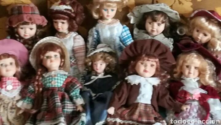 COLECCIÓN DE MUÑECAS CLÁSICAS DE PORCELANA (Juguetes - Muñeca Extranjera Moderna - Porcelana)