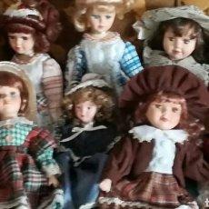Muñecas Porcelana: COLECCIÓN DE MUÑECAS CLÁSICAS DE PORCELANA. Lote 139703482