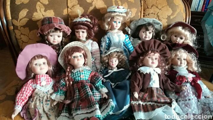 Muñecas Porcelana: COLECCIÓN DE MUÑECAS CLÁSICAS DE PORCELANA - Foto 2 - 139703482
