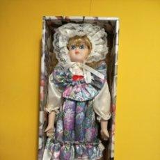 Muñecas Porcelana: MUÑECA DE PORCELANA. 40 CM. Lote 140482277