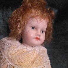 Muñecas Porcelana: ANTIGUA MUÑECA DE PORCELANA 27 CM.. Lote 140659306