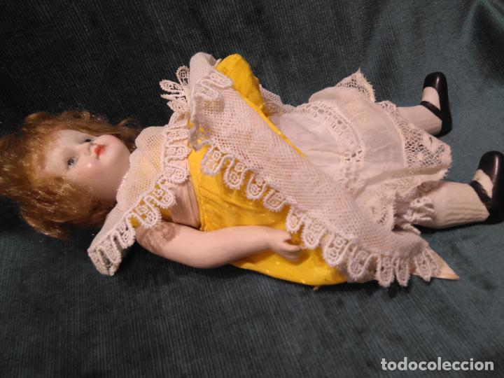 Muñecas Porcelana: Antigua muñeca de porcelana 27 cm. - Foto 2 - 140659306