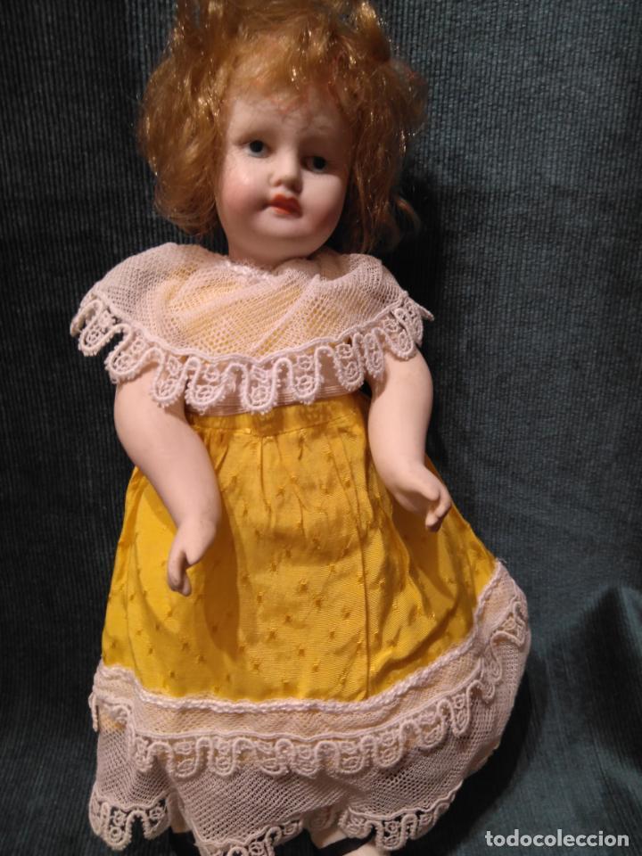 Muñecas Porcelana: Antigua muñeca de porcelana 27 cm. - Foto 3 - 140659306