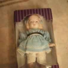 Muñecas Porcelana: MUÑECA DE PORCELANA CUERO COMPLETO DE PORCELANA, NUEVA EN CAJA ORIGINAL.ARTICULADA. Lote 140938834