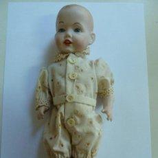 Muñecas Porcelana: MUÑECO. BISCUIT. (24 CM DE ALTO). Lote 141302846