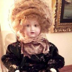 Muñecas Porcelana: ANTIGUA Y PRECIOSA MUÑECA DE PORCELANA O CERAMICA. Lote 141721470
