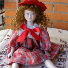 Muñecas Porcelana: MUÑECA DE PORCELANA, MIDE 43 CM . Lote 141917350