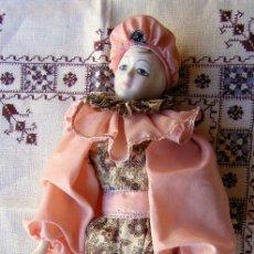 Muñecas Porcelana: MUÑECA DE PORCELANA MIDE 46 CM . Lote 141918162