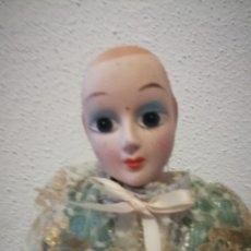 Muñecas Porcelana: MUÑECA CERÁMICA (BOUDOIR ?)VINTAGE 45CM.. Lote 142269410