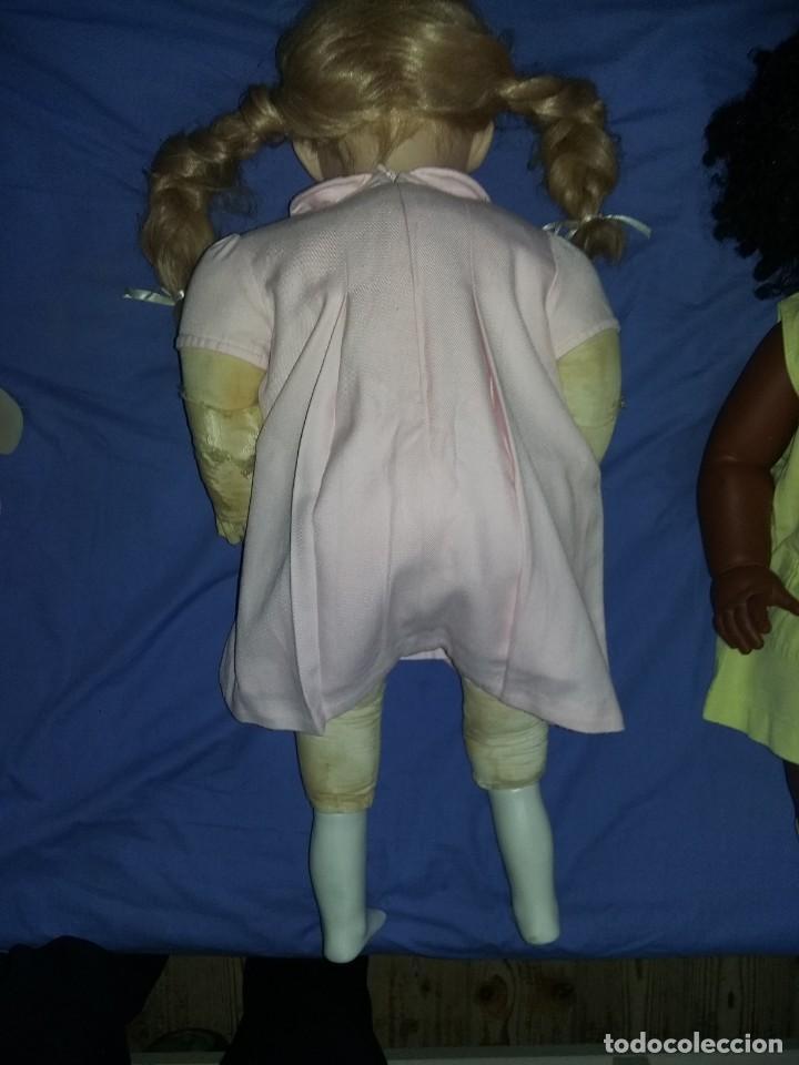Muñecas Porcelana: antigua muñeca porcelana muy grande 66 cm sin marca aparente cuerpo de composición necesita aseo - Foto 3 - 142356710