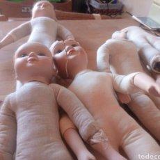 Muñecas Porcelana: LOTE DESPIECE MUÑECAS.. Lote 143046905