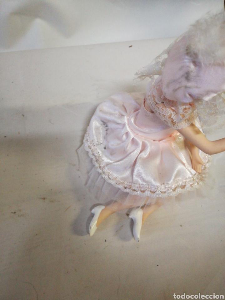 Muñecas Porcelana: Preciosa bailarina articulada de porcelana - Foto 4 - 143058168