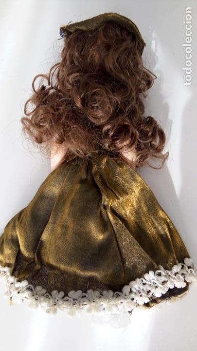 Muñecas Porcelana: 2 Pequeñas muñecas de porcelana con articulación. Con soporte, 23 cm. - Foto 18 - 143155654