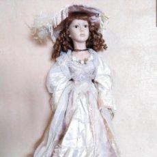 Muñecas Porcelana: MUÑECA DE PORCELANA 75 CM. Lote 144549734