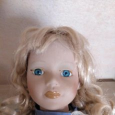 Muñecas Porcelana: MUÑECA DE PORCELANA. Lote 144551422