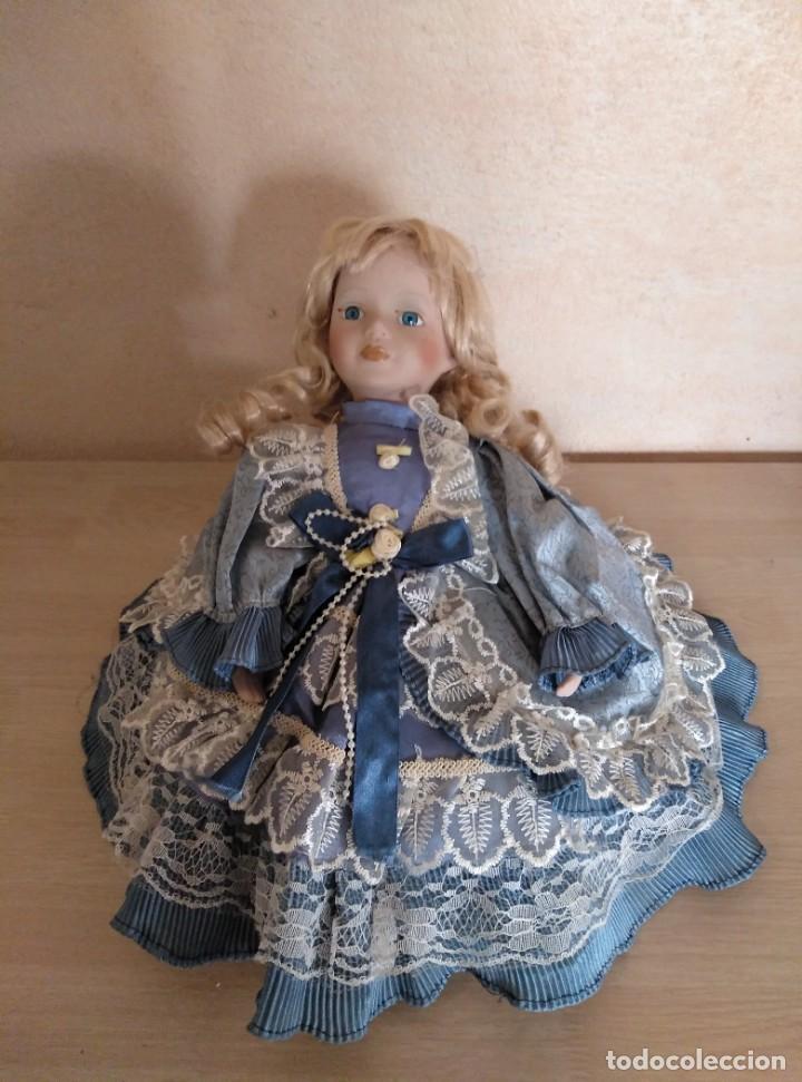 Muñecas Porcelana: Muñeca de porcelana - Foto 3 - 144551422