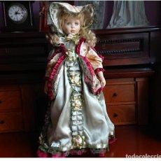 Muñecas Porcelana: MUÑECA VICTORIANA . Lote 144584194