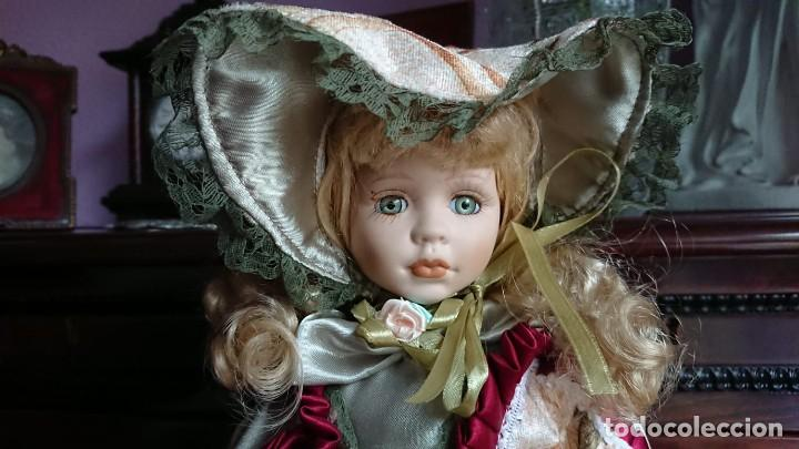 Muñecas Porcelana: MUÑECA VICTORIANA - Foto 3 - 144584194