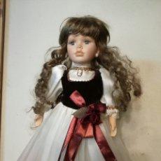 Muñecas Porcelana: MUÑECA DE PORCELANA. 40 CM. Lote 145576146