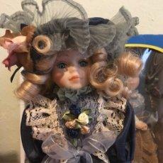 Muñecas Porcelana: COLECCION 5 MUÑECAS PORCELANA VICTORIANAS. Lote 145017978