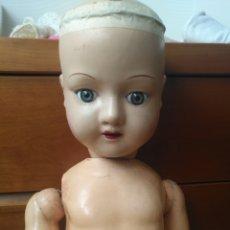 Muñecas Porcelana: ANTIGUA MUÑECA PORCELANA EVF ALEMANA O BELGA CON MARCA DIFÍCIL DE ENCONTRAR O RARA.. Lote 146744493