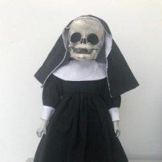 Muñecas Porcelana: MUÑECA DIABÓLICA DE PORCELANA HECHA A MANO. Lote 147190762