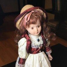 Muñecas Porcelana: PRECIOSA MUÑECA DE PORCELANA. MUY BUEN ESTADO!!. Lote 147398190